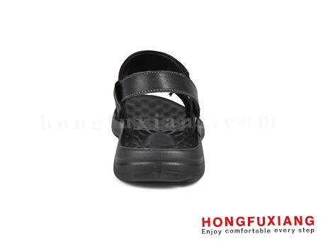 鸿福祥布鞋男鞋HG640255黑色图片