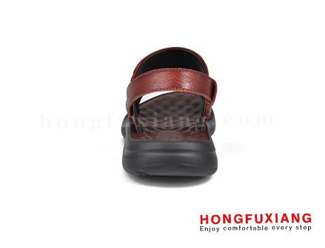 鸿福祥布鞋男鞋HG640255深棕图片