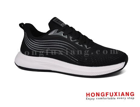 鸿福祥布鞋男鞋HG840189黑色