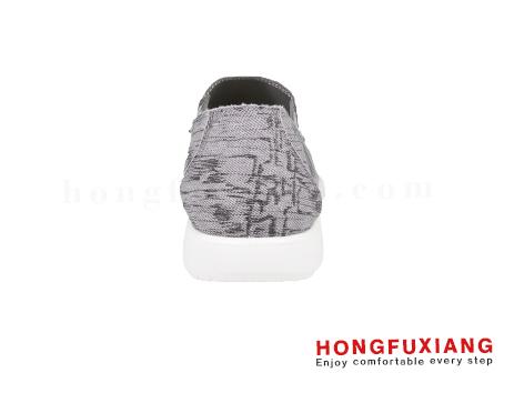 鸿福祥布鞋男鞋HG630173灰色图片