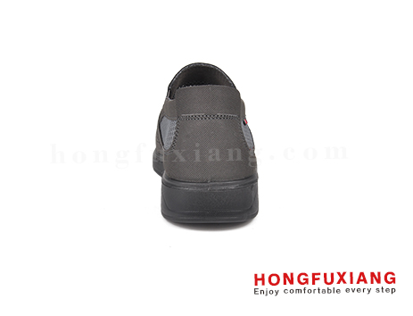 鸿福祥布鞋男鞋HG640161灰色图片