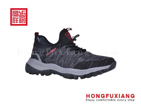 鸿福祥布鞋男鞋HG879571灰色