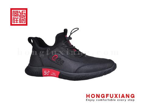 鸿福祥布鞋男鞋HG779591黑红