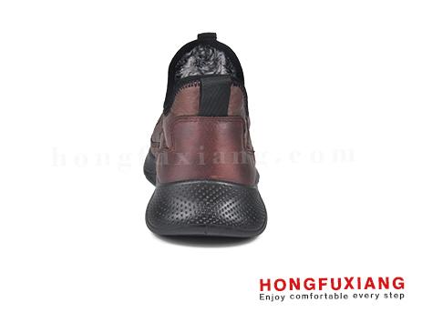 鸿福祥布鞋男鞋HG670553@棕色图片