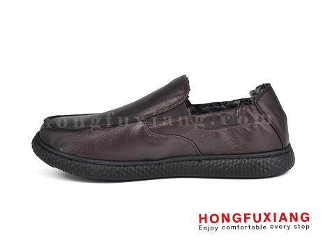 鸿福祥休闲鞋HG670629@棕色图片