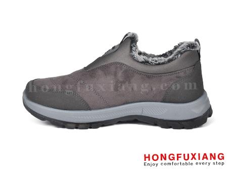 鸿福祥布鞋男鞋HG680581@灰色图片