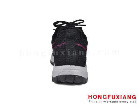 鸿福祥布鞋女鞋HL880590@黑紫图片