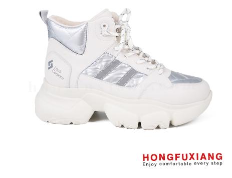 鸿福祥布鞋女鞋HL680588@米色