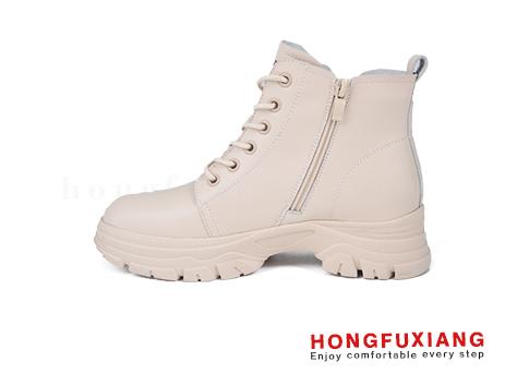 鸿福祥女鞋HL680586@米色图片