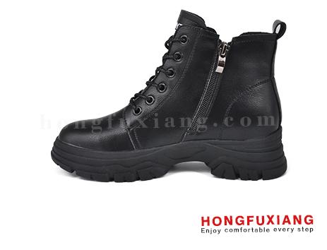 鸿福祥布鞋女鞋HL680586@黑色图片