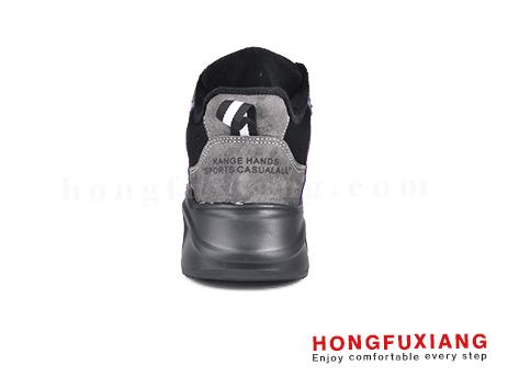 鸿福祥布鞋女鞋HL670688@黑紫图片